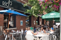 Rio 40 cafe on St. Clair W.