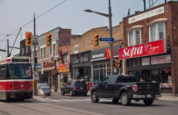 Corner of Dufferin and St. Clair W.