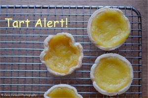 Lemon tarts.