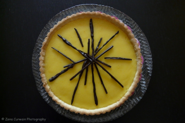 Lemon tart.