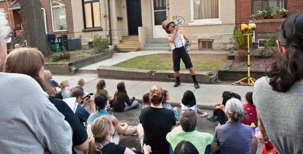 Tour guide for Porch View Dances.
