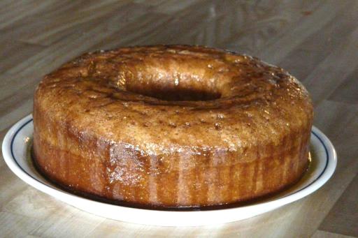 Bitter almond cake.