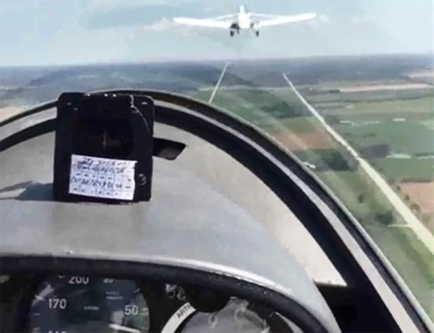 Gliding over Ontario.