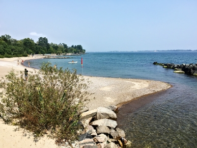 Centre island east beach.