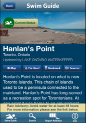 Swim guide Hanlan's