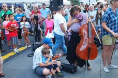Family of string players.