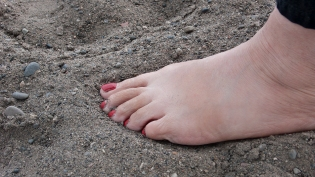 sand texture cherry