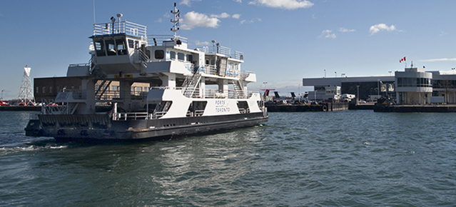 Toronto Island airport ferry.