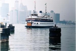 Toronto Island ferry.