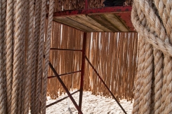 Interior of Floating Ropes.