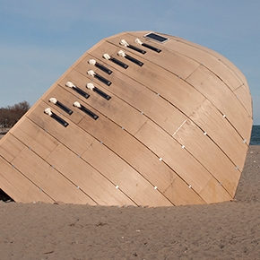 GET INSIDE: The Winter Stations at the Beach