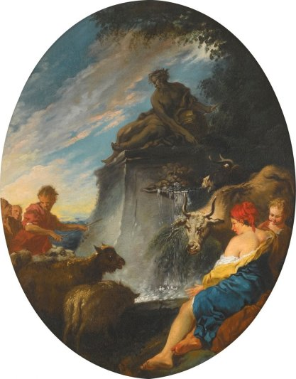 'Shepherds_at_a_Fountain'_by_François_Boucher