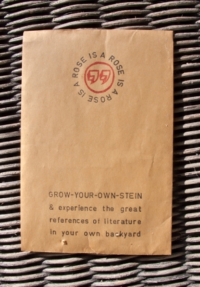 Grow your own Stein seed packet front.