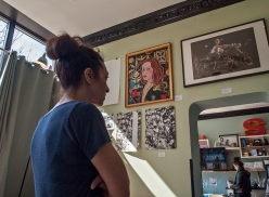 Looking at wall 3.