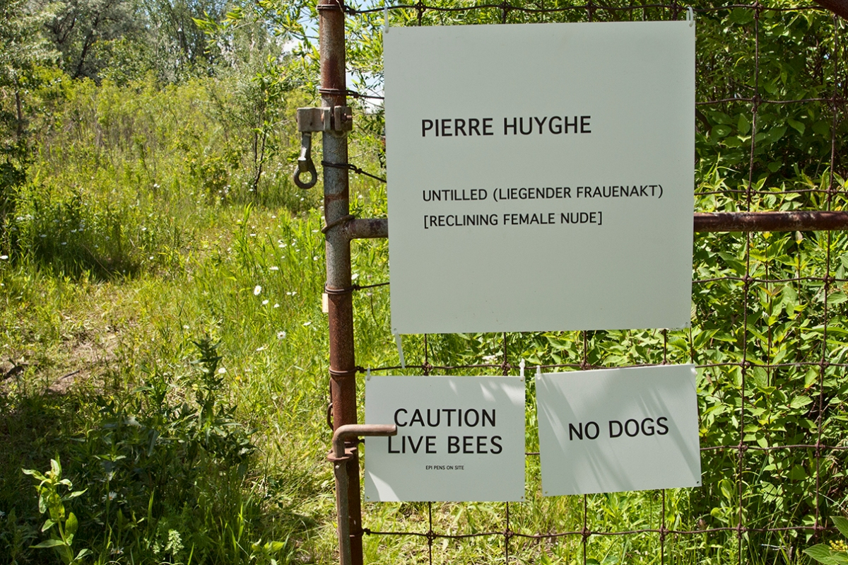Sign on the Hearn Trail.