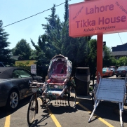 Lahore Tikka House bike carriage.