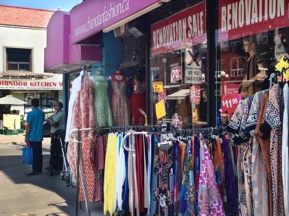 Renovation sale, sari store.