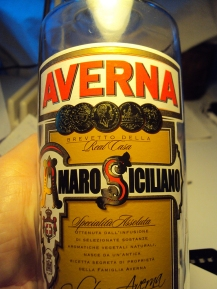 Sicilian digestif.