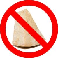 No cheese.