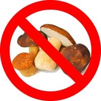 No mushrooms.