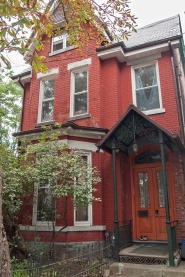 Dr Watson's house at 10 Euclid Ave., Toronto.