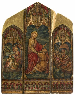 Triptych from St. Matthias church.