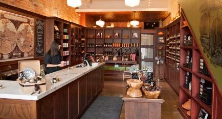 Spice Trader store interior.