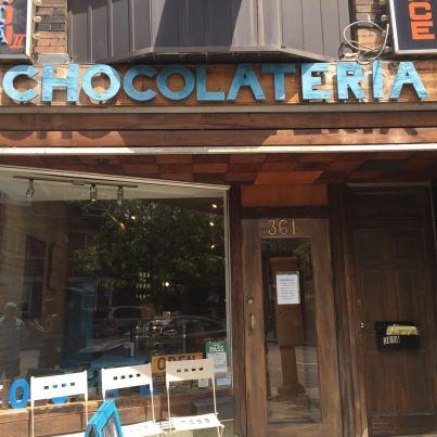 Chocolateria.