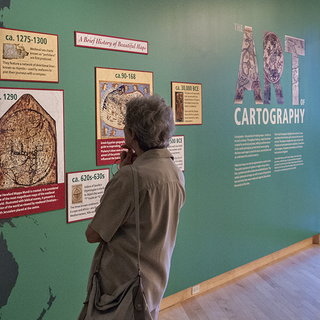 Art of Cartography exhibition.