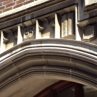 Doorway arch.