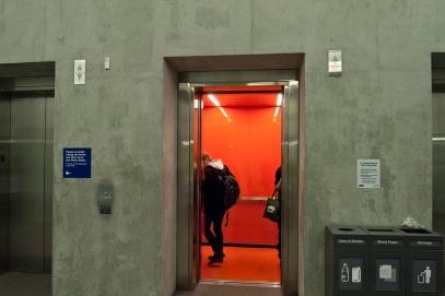 Elevator at Ryerson.