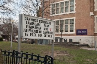 Sign outside Oakwood C I.