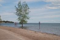 Sunny side beach east.