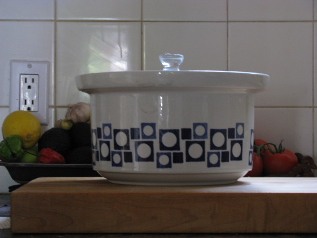 Wait - fermenting kimchi.