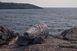 Wave Sound overlooking Lake Superior.