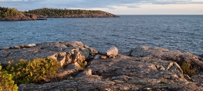 On Lake Superior, listening for RebeccaBelmore