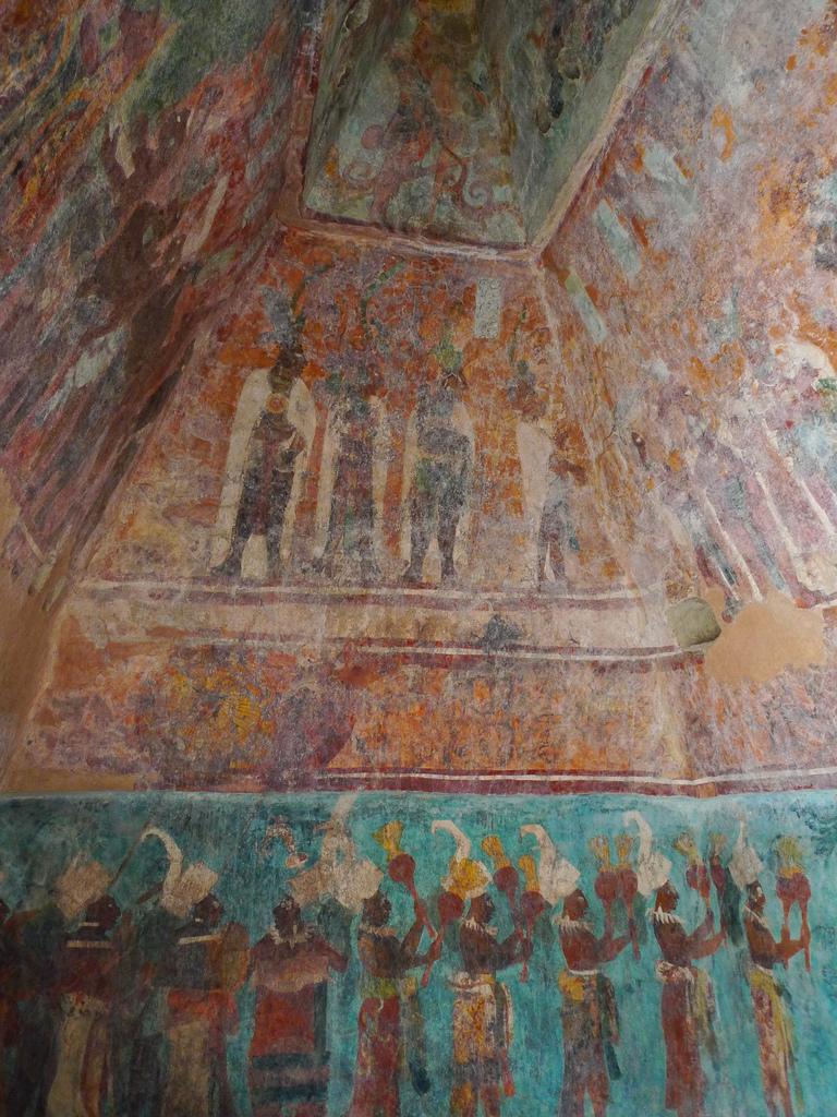 Mayan murals.