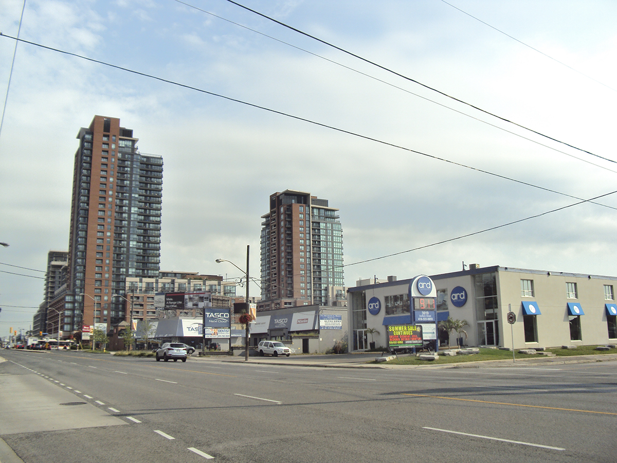 New development at Lawrence and Dufferin.