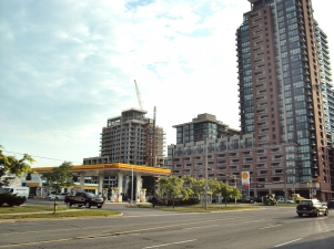 New construction at Lawrence and Dufferin.