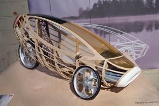 Orenda wooden car model.