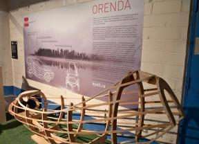 Orenda wooden car prototype.