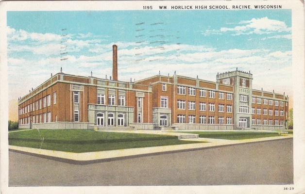 Horlick High postcard.