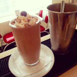 Chocolate malt.