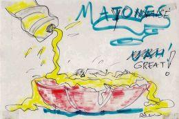 Mayo cartoon by Fellini.