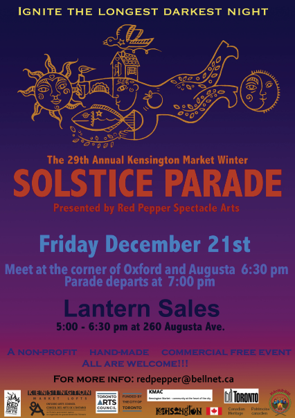 Solstice Parade poster