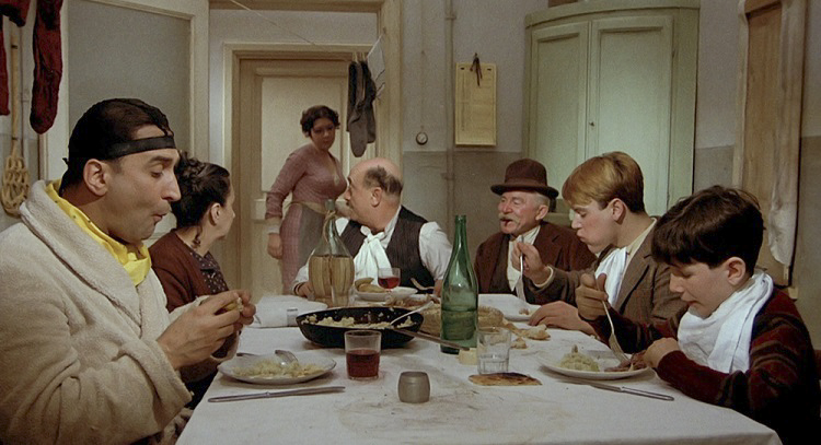 Amarcord table scene.