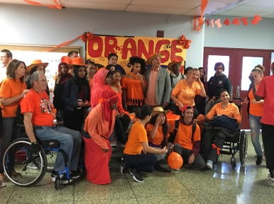 Orange Day group