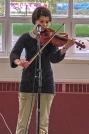 Student violinist